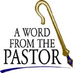 Message From the Pastor Clip Art
